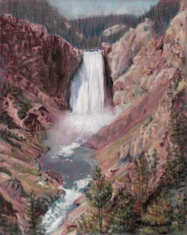 Percussion-Yellowstone_Falls_5578